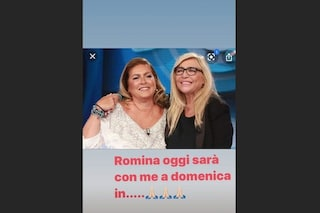 Romina Power confermata a Domenica In con Mara Venier a poche ore dalla morte della sorella