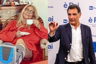 """Mara Venier contro Gianni Ippoliti e Tiberio Timperi: """"Siete due poveracci"""""""