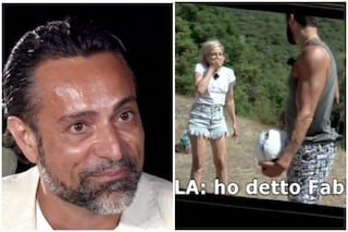 Temptation Island, Antonella Elia chiama Pietro Delle Piane con il nome del suo ex Fabiano