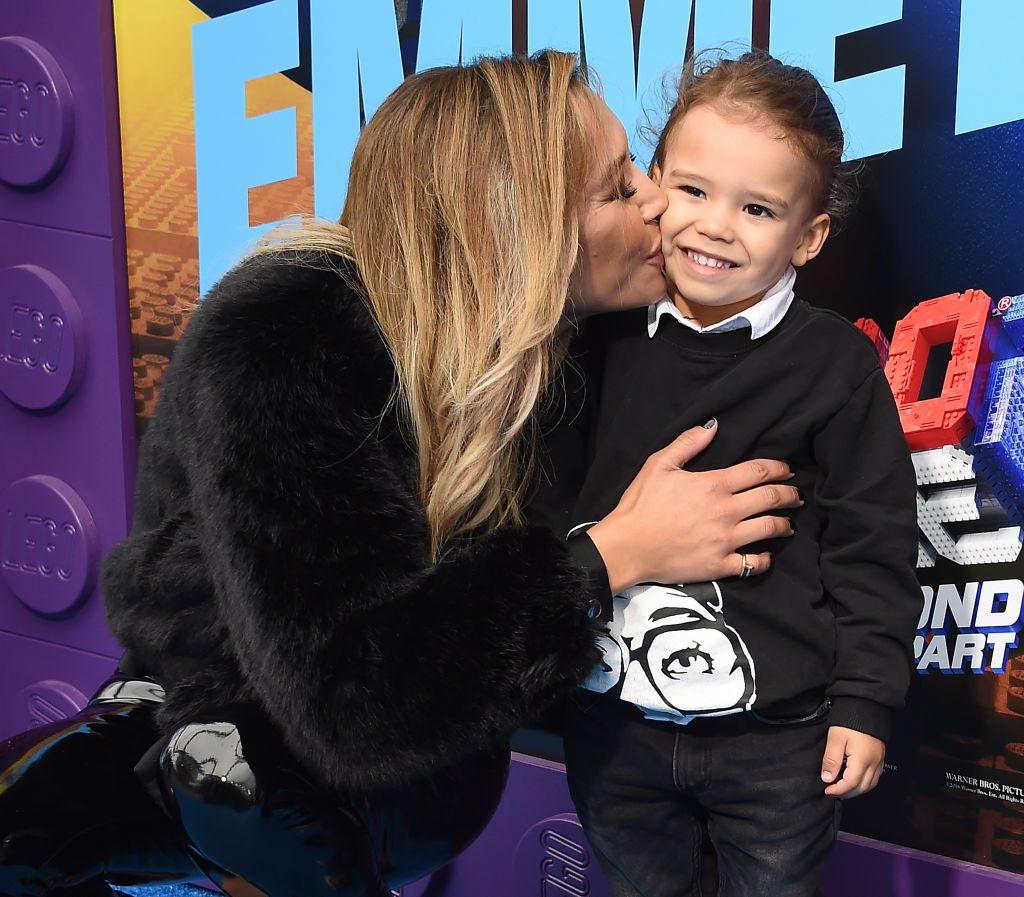 Naya Rivera con il figlio Josey