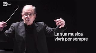 """Ennio Morricone, l'omaggio della Rai e il cambio programmazione: """"La sua musica vivrà per sempre"""""""