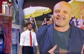 """Peppe Iodice scherza con Stefano De Martino: """"Ma veramente stai uscendo con Barbara D'Urso?"""""""
