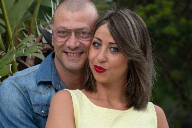 Sofia Calesso e il compago Alessandro a Temptation Island