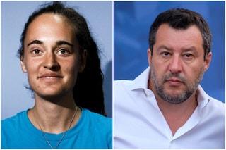 """Lega di Matteo Salvini contro la Rai: """"Paga 25mila euro per trasmettere un film su Carola Rackete"""""""