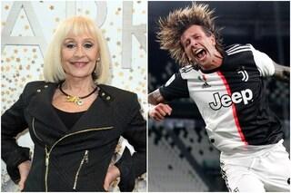 """Il Tuca Tuca di Raffaella Carrà per la Juve al nono scudetto consecutivo: """"Sono pazza di te"""""""