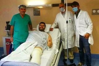 """Salvatore Esposito finisce in ospedale: """"Nulla di grave, tornerò più forte di prima"""""""