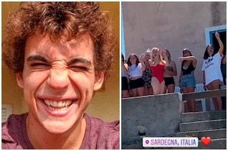 Rio de La casa di carta in vacanza in Sardegna, Miguel Herrán accolto con Bella Ciao