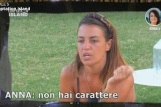"""Temptation Island, Anna contro Andrea: """"Mi fa passare per una mantenuta"""""""