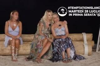"""La quinta puntata di Temptation Island, Antonella Elia schiaffeggia Pietro: """"Non mi toccare"""""""