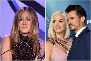 Jennifer Aniston sarà la madrina della figlia di Katy Perry e Orlando Bloom