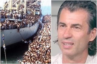"""Kledi Kadiu ricorda lo sbarco in Italia con la Vlora: """"Era il 1991, anno in cui nacque mia moglie"""""""