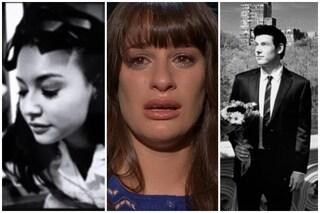 Lea Michele ricorda Naya Rivera e Cory Monteith con due foto inedite, l'omaggio è straziante