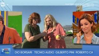 Sandra Milo e la figlia Debora Ergas, a La Vita in Diretta Estate è nata una nuova coppia Tv