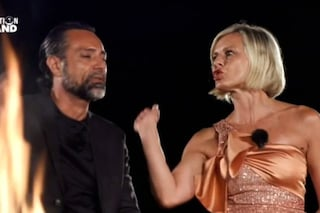 Scontro tra Antonella Elia e Pietro Delle Piane, schiaffi nell'ultima puntata di Temptation Island