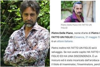 """""""Pietro Delle Piane ha un figlio"""", vandalizzata la pagina Wikipedia del compagno di Antonella Elia"""