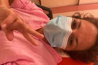 """Incidente per Roberta Rei, in ospedale dopo essere caduta dalle scale: """"Non è grave, solo doloroso"""""""