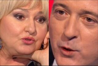 """Monica Setta interrompe Pierluigi Diaco a Io e Te, il presentatore: """"Vuoi condurre tu?"""""""