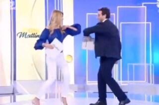 """Adriana Volpe e Alessio Viola negano i rapporti tesi: """"Che non si dica che tra noi c'è il gelo"""""""