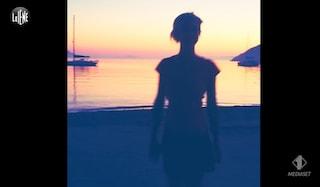 Il video di Nadia Toffa che balla sul mare al tramonto va in onda per l'ultima volta