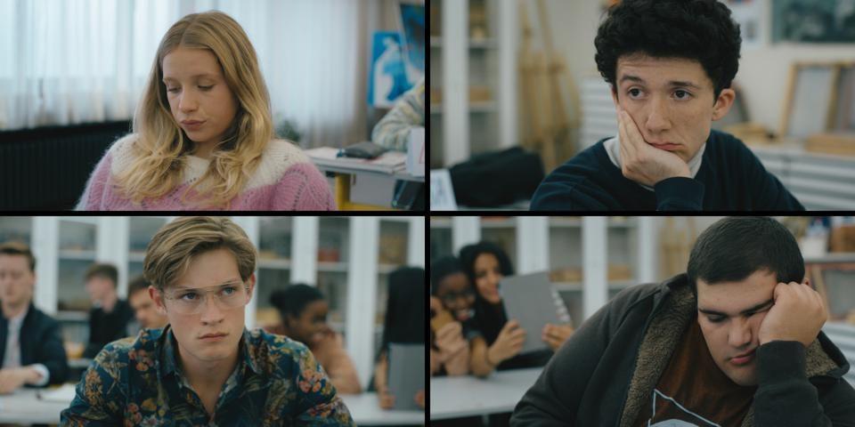 Lisa, Mortiz, Dan e Lenny in Come vendere droga online
