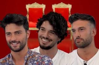 Uomini e Donne: Davide Donadei, Gianluca De Matteis e Davide Blanda sono gli aspiranti tronisti
