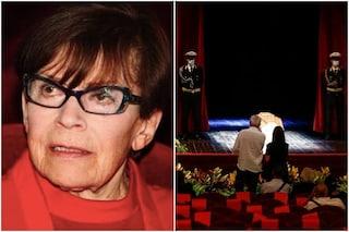 L'ultimo saluto a Franca Valeri, in centinaia in coda al Teatro Argentina di Roma