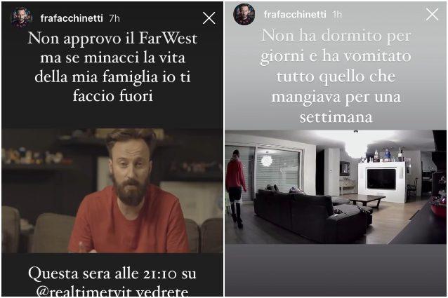 Francesco Facchinetti, confessione inaspettata: