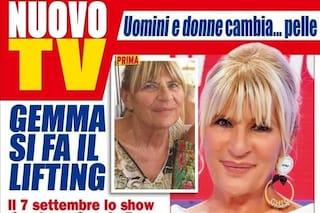 """Gemma Galgani ha fatto un lifting, per questo evita Nicola Vivarelli da luglio: """"Era una sorpresa"""""""