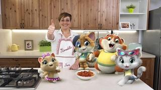 """Benedetta Rossi e i 44 Gatti: """"Ecco la mia versione delle tagliatelle di Nonna Pina"""""""