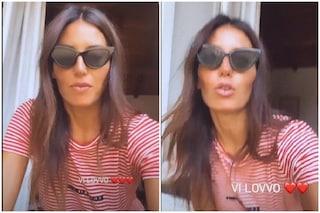 """Elisabetta Gregoraci conferma l'entrata al GF Vip: """"So che mi aspettavate, ci vediamo venerdì"""""""