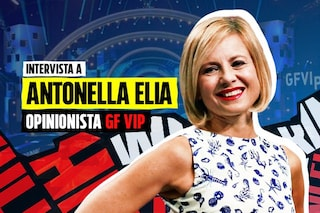 """GF Vip, Antonella Elia: """"Con Wanda Nara nessuna rivalità, diverse anche nella taglia di reggiseno"""""""
