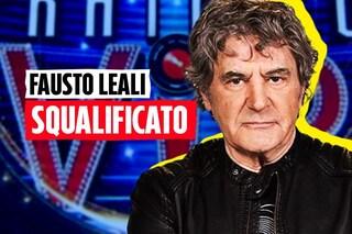"""Grande Fratello Vip, squalificato Fausto Leali: """"Le sue parole possono avere una sola conseguenza"""""""