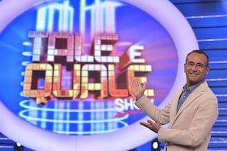 """Tale e Quale, Carlo Conti: """"In onda senza pubblico, bel modo di festeggiare i 10 anni dello show"""""""
