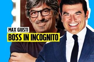 """Max Giusti torna in Rai con Boss in Incognito: """"Vedremo come il Covid ha cambiato il lavoro"""""""