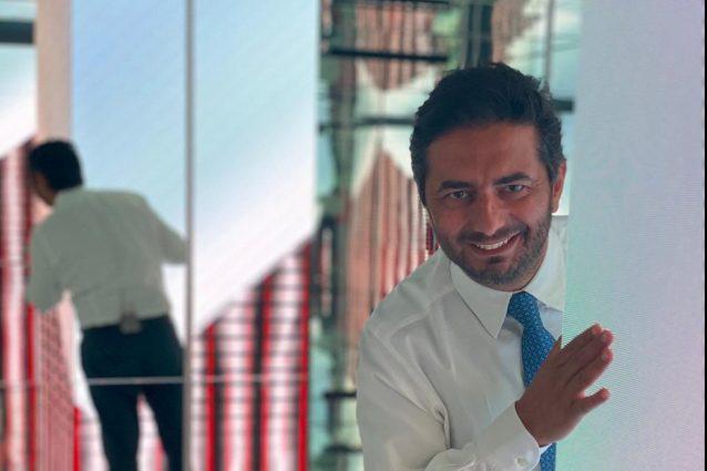 Gianvito Casadonte, conduttore di Primo Set