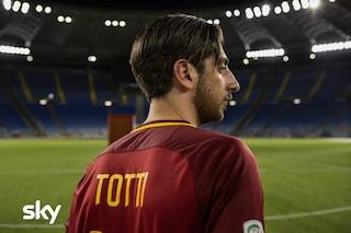 Speravo de morì prima, la prima immagine di Pietro Castellitto nella serie Tv su Francesco Totti