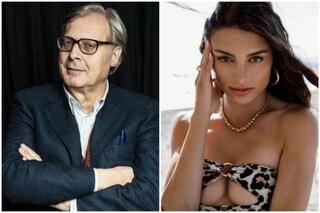 """Vittorio Sgarbi sul flirt con Franceska Pepe: """"Nulla di organizzato, era una parentesi affettuosa"""""""