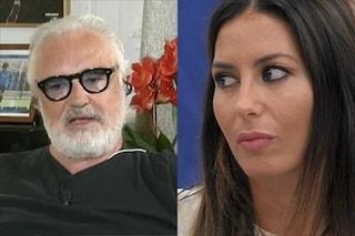 """Elisabetta Gregoraci su Flavio Briatore: """"Il giorno del funerale di mia mamma mi ha lasciata sola"""""""