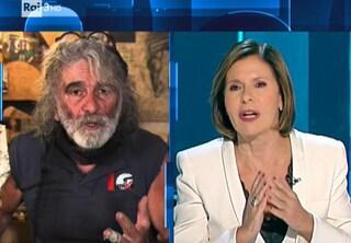 """Bianca Berlinguer: """"Spero che Mauro Corona torni a Cartabianca dopo una riflessione"""""""