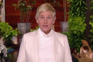 """Ellen DeGeneres torna in tv dopo le accuse di razzismo: """"Chiedo scusa a chi ho deluso e ferito"""""""
