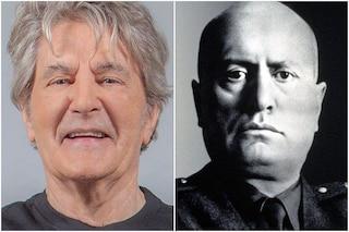 """Fausto Leali: """"Mussolini ha fatto cose per l'umanità come le pensioni, Hitler era suo fan"""""""