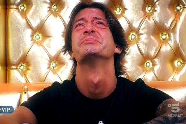 Le lacrime di Francesco Oppini