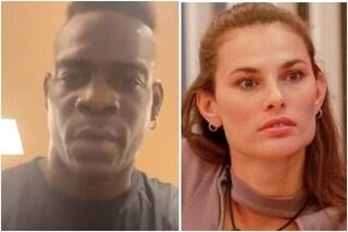 """Mario Balotelli dopo parole di Dayane Mello al GfVip: """"Bugie, basta parlare a vanvera di me"""""""