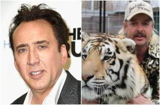Nicolas Cage nei panni di Joe Exotic, la serie tv sulla vita di Tiger King uscirà su Amazon Prime