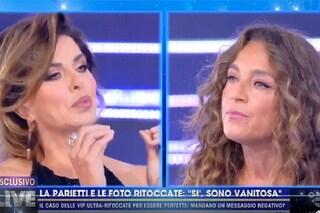 """Lite tra Alba Parietti e Caterina Collovati: """"Sciacqualattughe"""", """"Arrogante"""""""