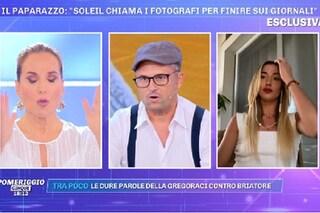 "Soleil Sorge fa infuriare Barbara D'Urso: ""Se interrompi te ne vai per sempre, salutame a soreta"""
