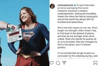 """La sesta stagione si Supergirl sarà l'ultima, l'addio di Mellissa Benoist: """"Per sempre grata"""""""