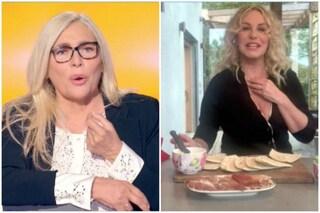 """Antonella Clerici ospite di Mara Venier: """"Con il mezzogiorno sono tornata a casa mia"""""""