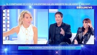 """Il compagno di Viola Valentino accusato di avere l'amante, lui: """"Amo solo lei, sono tutte bugie"""""""