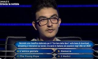 Qual è la serie italiana più popolare negli Usa nel 2020? Chris Caraccioli non ha risposto